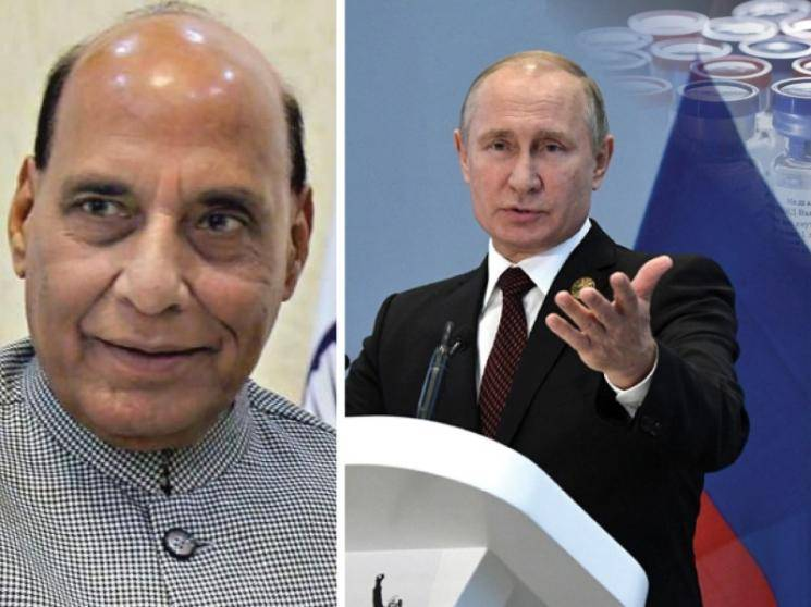 India's Defence Minister Rajnath Singh congratulates Russia for developing COVID-19 vaccine - Daily news