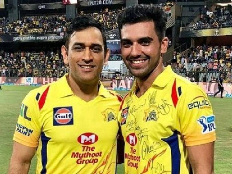Deepak Chahar gives CSK big boost for IPL 2020 by returning from COVID! - Daily Cinema news