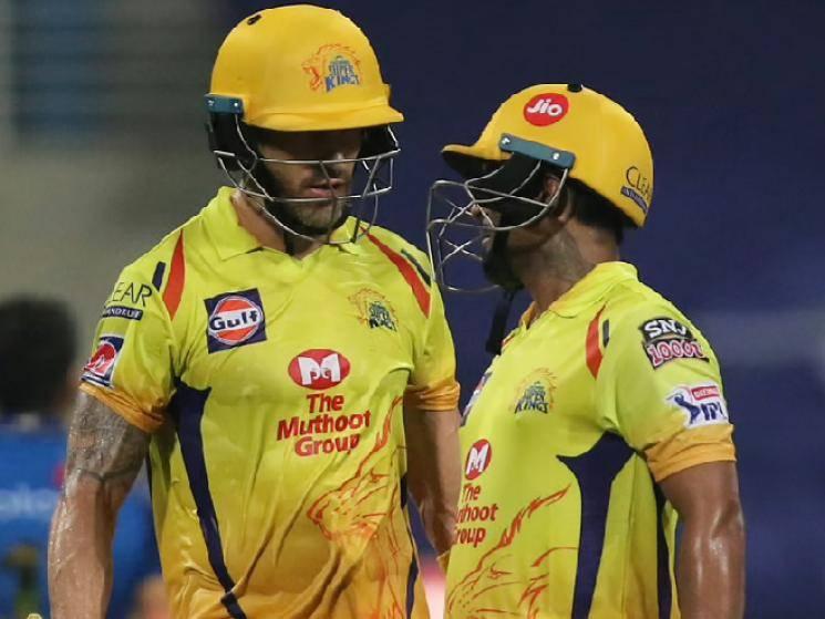 IPL 2020: Faf du Plessis Ambati Rayudu and Sam Curran star in CSK season opener win against MI! -