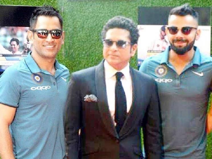 Dhoni's popularity surpasses Sachin and Kohli's - Sunil Gavaskar! -