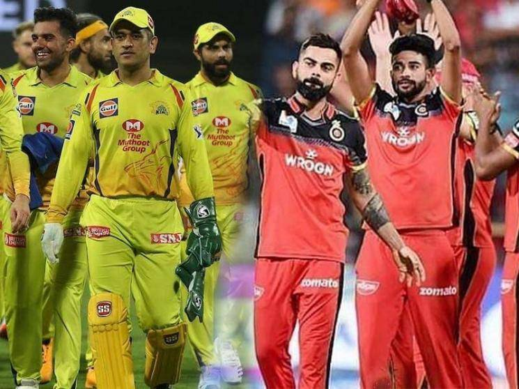 CSK defeat RCB by 8 Wickets to get back to winning ways! - Daily Cinema news