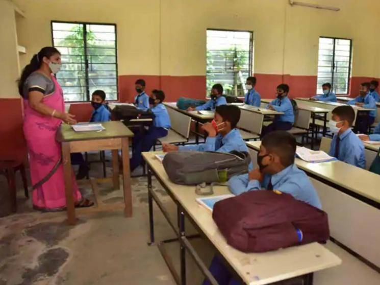 TN Government to take decision on school reopening after discussing with parents! - Daily news