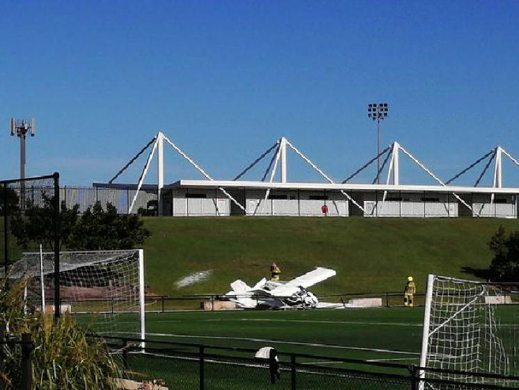 Plane crashes 30 Kms from Indian Cricket Team's hotel in Australia! -