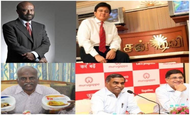 இந்தியாவின் டாப் 100 கோடீஸ்வரர்களின் பட்டியலில் 4 தமிழர்கள்! - Daily Cinema news