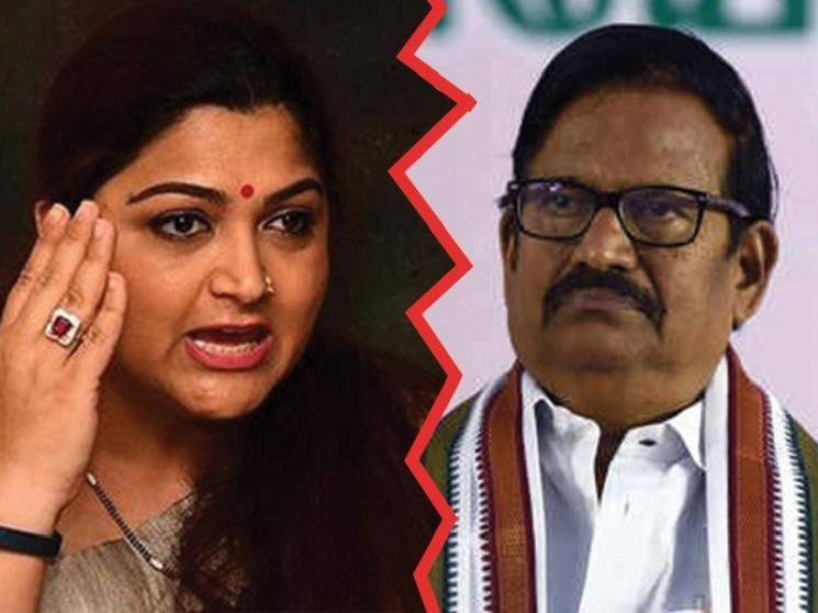 நடிகை குஷ்பூ vs கே.எஸ். அழகிரி.. வார்த்தை போர்..!