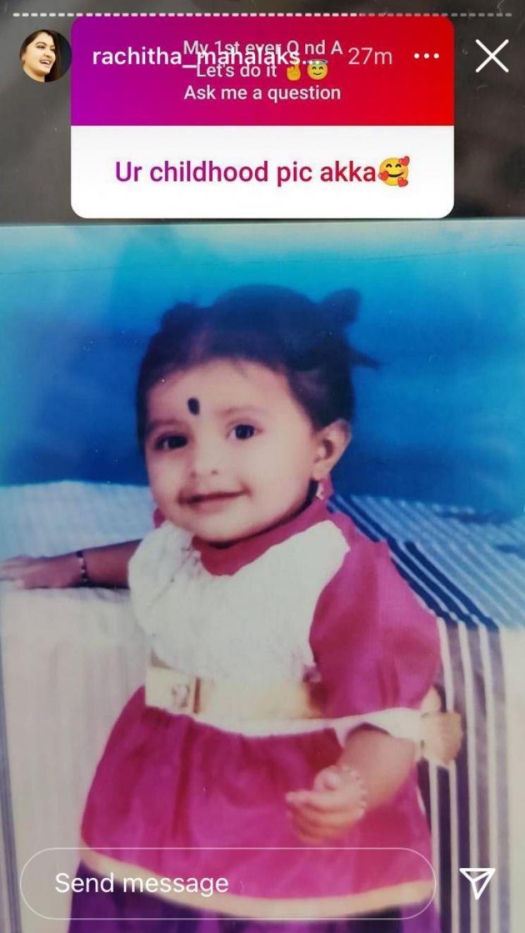 rachitha mahalakshmi throwback photo goes viral naam iruvar namaku iruvar