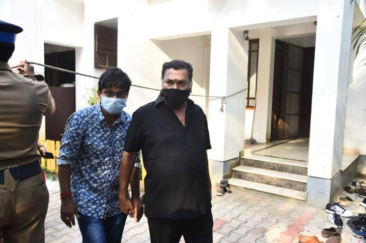 tamil actors pays last respect to actor vivek