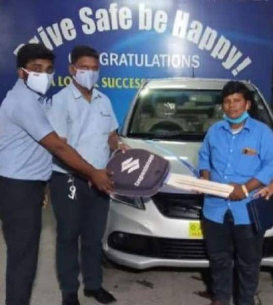 samantha gifts a luxurious car to a woman auto driver fulfills her promise