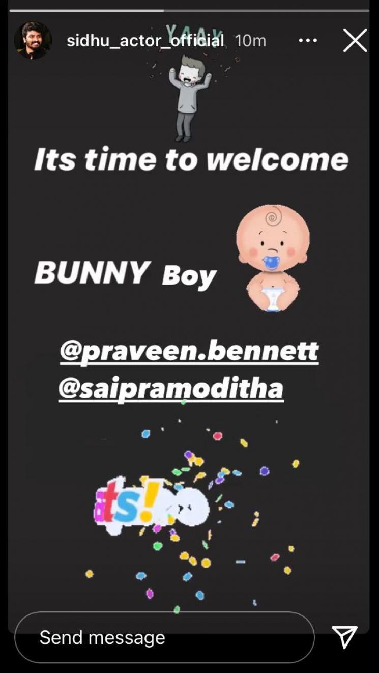 sai pramoditha and bharathi kannamma director praveen bennett blessed with baby boy