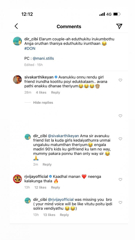 sivakarthikeyan funny reply to sivaangi abt don shoot happening at tajmahal