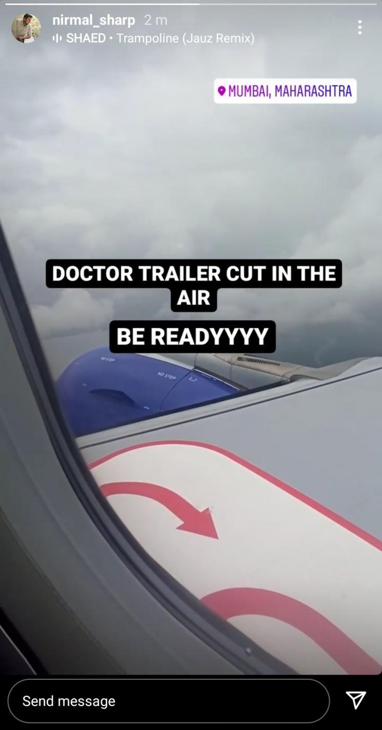 sivakarthikeyan doctor movie trailer works going on nelson dilipkumar anirudh