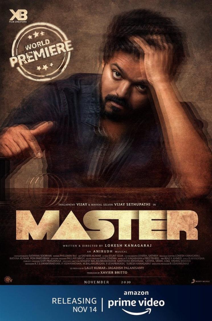 vijay master not releasing in ott fake poster clarification here
