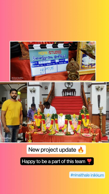 ayutha ezhuthu serial anand selvan to star in zee tamil show ninaithale inikkum