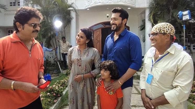 bobby simha special appearance in colors tamil uyire serial