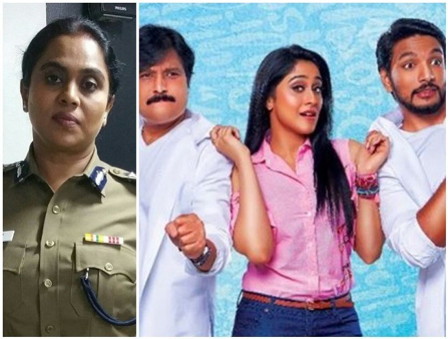 Exclusive viji chandrasekhar as a cop in mrchandramouli - Tamil Movie Cinema News