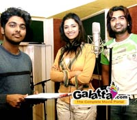 Kaalai song recording pictures - Tamil Movie Cinema News