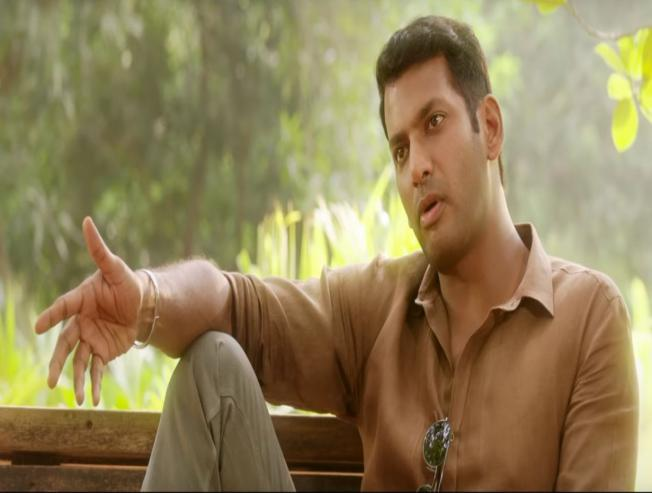 A 2 minute intriguing video from Ayogya featuring Vishal and MS Bhaskar is here - Tamil Movie Cinema News