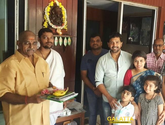 Kuttram 23 telugu dubbing begins - Tamil Movie Cinema News