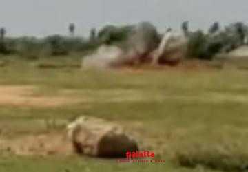 காஞ்சிபுரத்தில் குண்டு வெடிக்க வைத்து அழிக்கப்பட்டது!  - Latest Tamil Cinema News