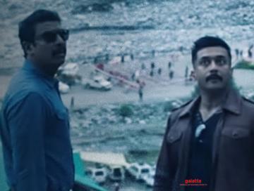 Suriya Kaappaan movie scene locust attack happens in India - Movie Cinema News