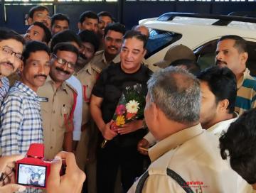 Kamal haasan and team go to rajahmundry centrail jail for shoot - Tamil Movie Cinema News