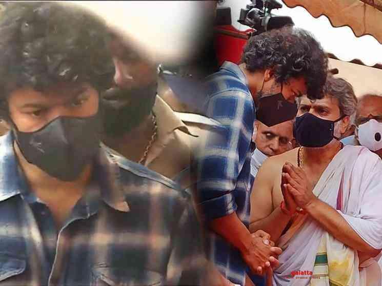 Master Thalapathy Vijay throwback pic Aadai director Rathna Kumar - Movie Cinema News