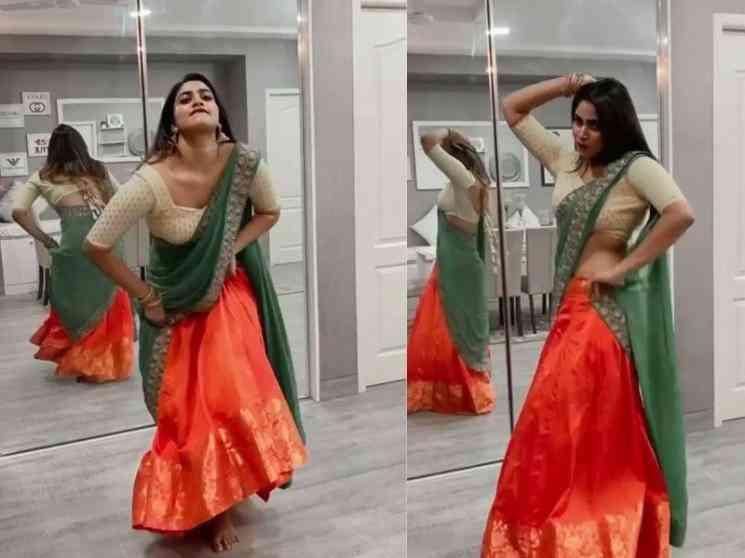 ட்ரெண்ட் அடிக்கும் பிக்பாஸ் ஷிவானியின் நடன வீடியோ ! - Latest Tamil Cinema News