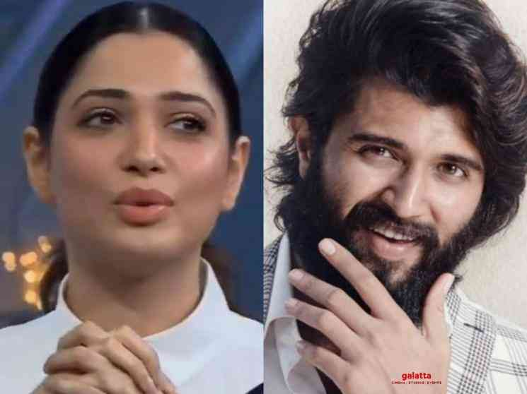 Tamannaah open to kiss Vijay Deverakonda Samantha Sam Jam - Movie Cinema News