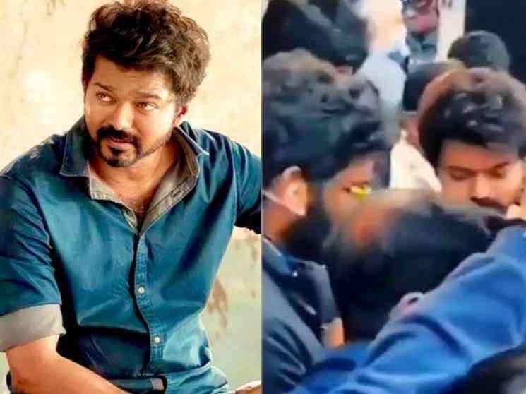 ரசிகர்களுடன் தளபதி...ட்ரெண்ட் அடிக்கும் தளபதி 65 வீடியோ ! - Latest Tamil Cinema News