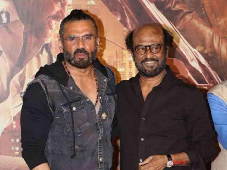 Darbar villain Suniel Shetty composed reply to online troll - Movie Cinema News