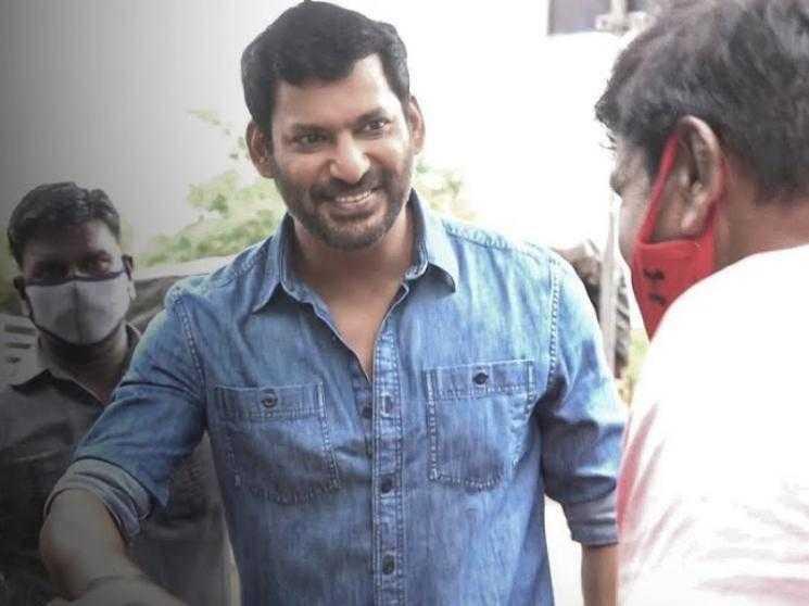 Vishal's next grand film MASS ACTION VIDEO   Vishal 31 Surprise Glimpse   Yuvan Shankar Raja