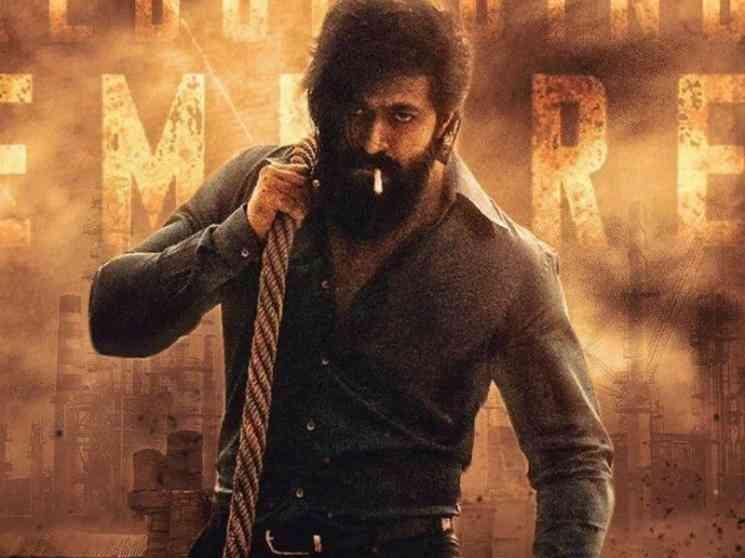 கே.ஜி.எப் 2 ஷூட்டிங் குறித்த ருசிகர தகவல் ! விவரம் உள்ளே- Tamil Movies News
