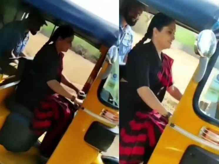 ஆட்டோ ஓட்டி அசத்திய பிரபல சீரியல் நடிகை ! - Tamil Movies News