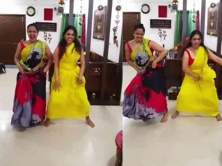 தீயாய் பரவும் விஜய் டிவி நடிகையின் நடன வீடியோ ! - Latest Tamil Cinema News