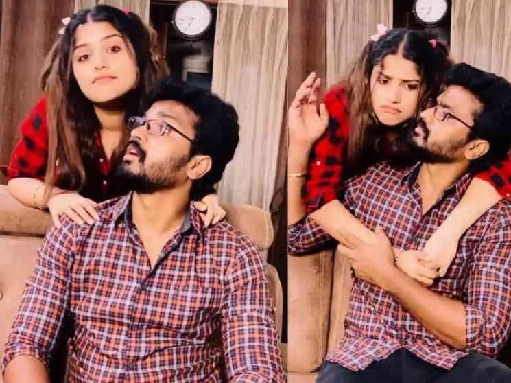 தெறி பட டயலாக்கை பேசி அசத்திய முன்னணி சீரியல் ஜோடி ! - Tamil Movies News