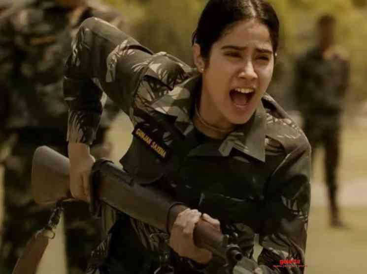 Janhvi Kapoor starrer Gunjan Saxena Official Trailer Netflix - Tamil Movie Cinema News