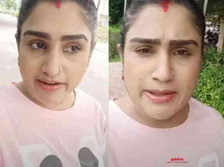 Vanitha Vijayakumar new tweet about Suriya Devi health condition - Tamil Movie Cinema News