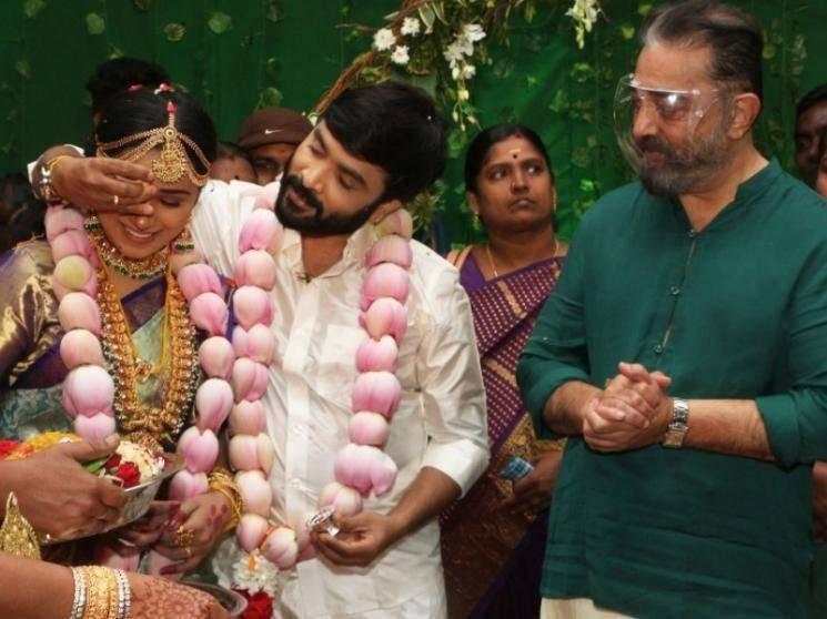 கமல்ஹாசன் முன்னிலையில் நடைபெற்ற பிக்பாஸ் சினேகனின் திருமணம்!!! - Tamil Movies News