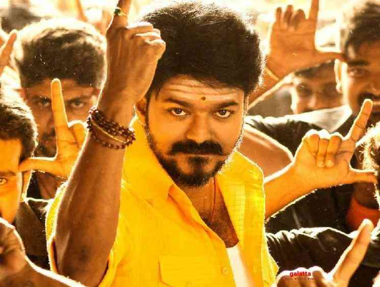 Thalapathy Vijay Master album milestone on Gaana Mersal Bigil - Movie Cinema News