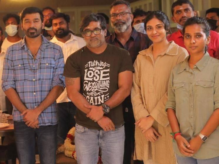 பூஜையுடன் படப்பிடிப்பை தொடங்கிய நானே வருவேன் படக்குழுவினர் ! - Tamil Movies News