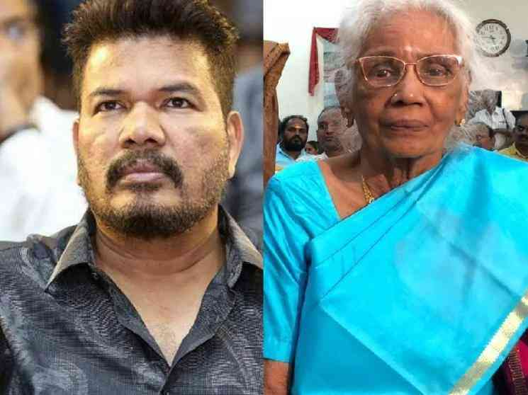 RIP: Director Shankar's mother passes away - celebrities and fans pay their respects! - Tamil Cinema News