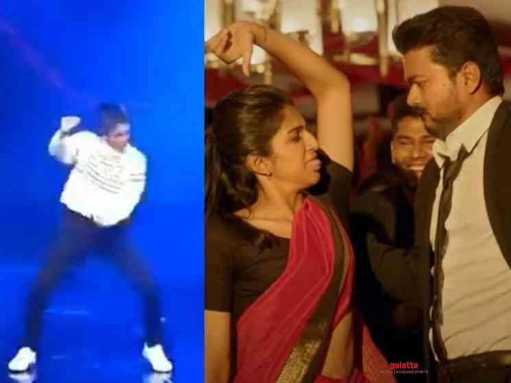 Vinaya Sesha Kutty Story dance Master Thalapathy Vijay - Tamil Movie Cinema News