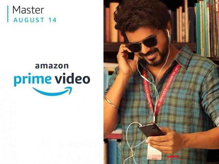 Master will not release on Amazon Prime on August 14 - Tamil Movie Cinema News