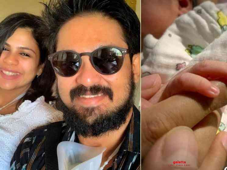 Actor Nakkhul and Sruti Baskar blessed with a baby girl - Tamil Movie Cinema News