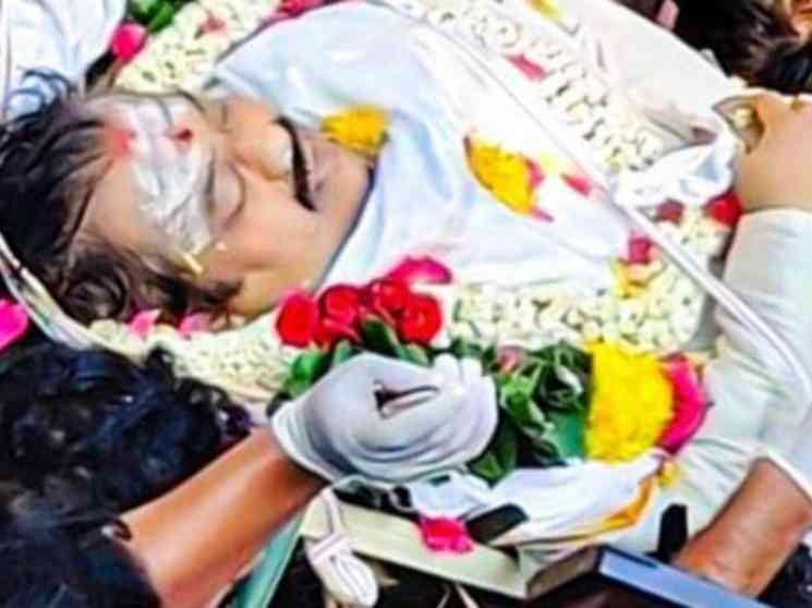 மறைந்த நடிகர் விவேக்கின் இறுதி ஊர்வலத்தில் ஆயிரக்கணக்கான மக்கள் பங்கேற்பு ! - Latest Tamil Cinema News