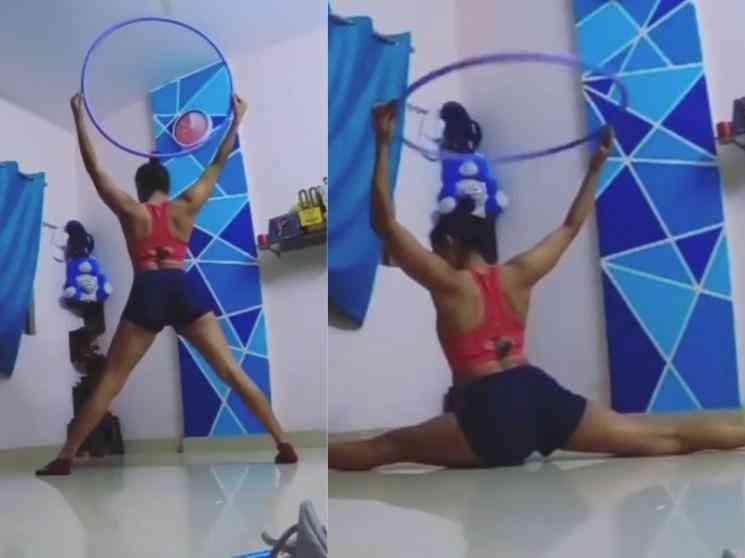 இணையத்தை அசத்தும் கோமாளி நடிகையின் ஒர்க்கவுட் வீடியோ !- Tamil Movies News