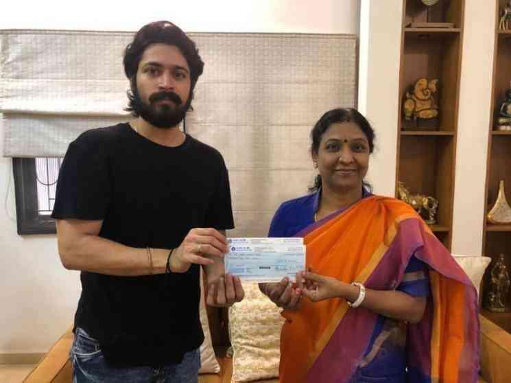 ஹரிஷ் கல்யாண் செய்த செயலால் எமோஷனலான ரசிகர்கள் !- Latest Tamil Cinema News