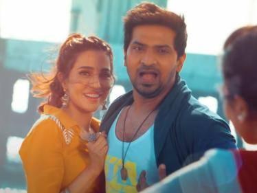 Aalambana movie 'Eppa Paarthaalum' song video | Vaibhav Parvati Nair | HipHop Tamizha