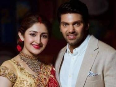 Arya-Sayyeshaa become proud parents to a baby girl - Vishal announces the happy news! - Tamil Cinema News