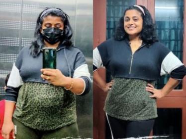 Bigg Boss Malayalam actress Veena Nair loses 6 kgs in 20 days - Viral transformation video! - Tamil Movies News